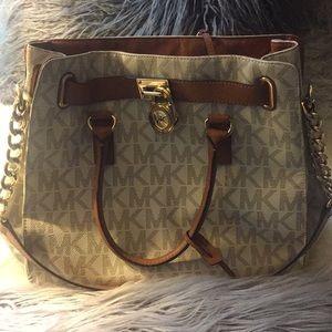 Authentic MK white purse